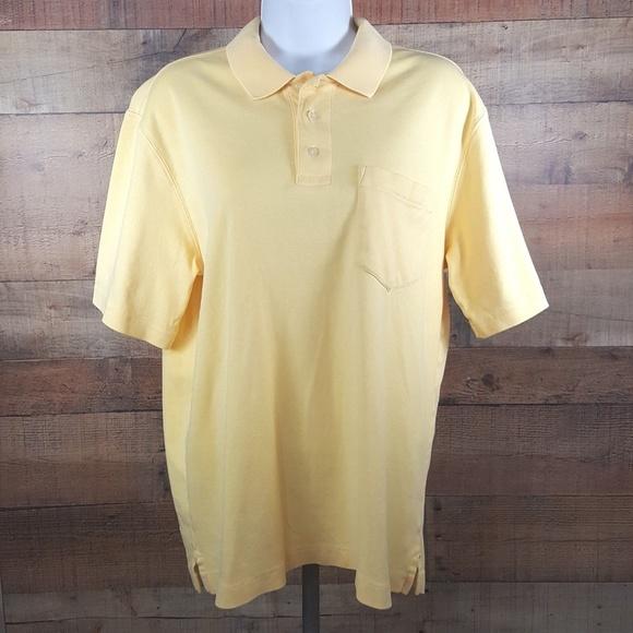 Casual Button-down Shirts Mens Landsend Short Sleeve Tee Shirt Medium 38-40 Blue Shirts